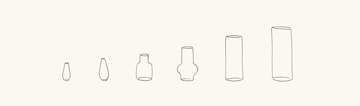 web size guide vases